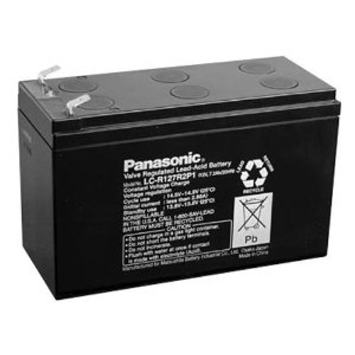 Panasonic LC-RC1217P LCRC1217P 12V 18Ah UPS Battery This is an AJC Brand Replacement