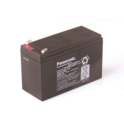 Panasonic UP-RW1245P1 Battery - 12V 9.0Ah Sealed Rechargeable, Replacement Batteries for LC-R129, LC-R129P, LC-R129P1, RBC-17, UP-RW1245P, UP-VW1245P1