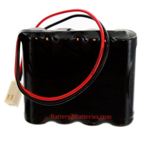 Dual-Lite 0120790 Rev B Battery Replacement for Emergency Lighting