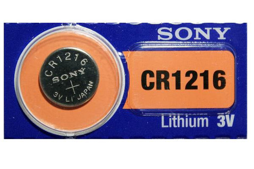 CR1216 Battery By muRata Sony - 3V Lithium Coin Cell