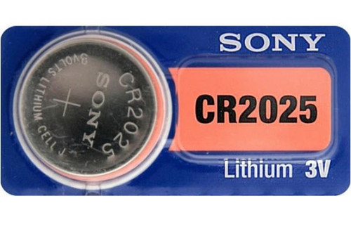 CR2025 Battery By muRata Sony - 3V Lithium Coin Cell