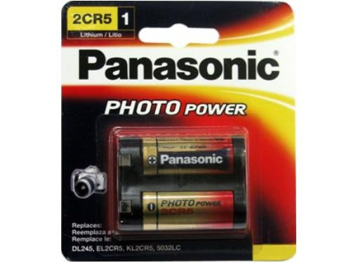Panasonic 2CR5 Battery