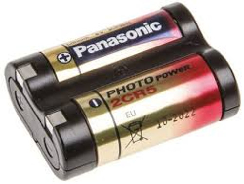 Panasonic 2CR5 Battery (12 Pack) 6 Volt Lithium for Camera - Photo