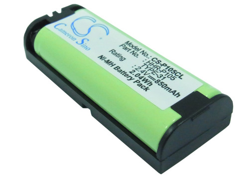 Panasonic HHR-P105 Battery for Cordless Phone - Headset