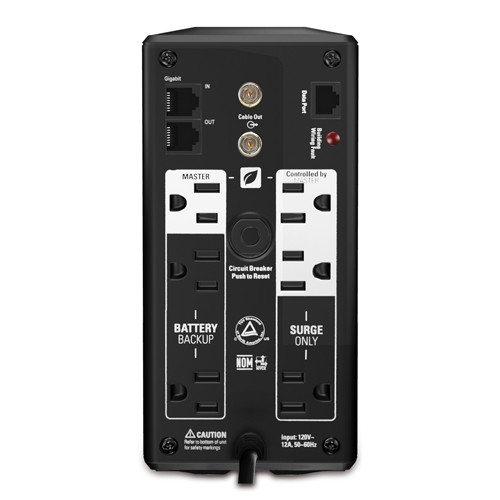 APC Back-UPS BR700G 700VA Tower Backup System