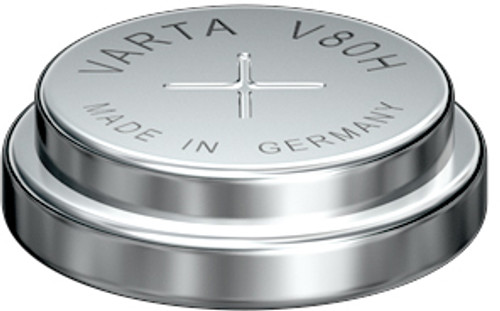 Varta V80H - 55608101501 Battery - 1.2V 80mAh NiMH - Nickel Metal Hydride Button Cell
