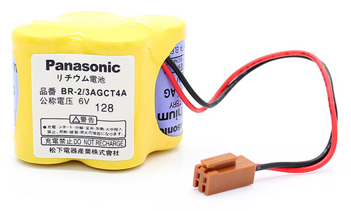 Panasonic BR-2/3AGCT4A Battery for CNC - PLC Robot Controller