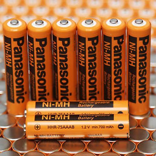 Panasonic HHR-75AAAB Battery - AAA Ni-MH 1.2V 700mAh