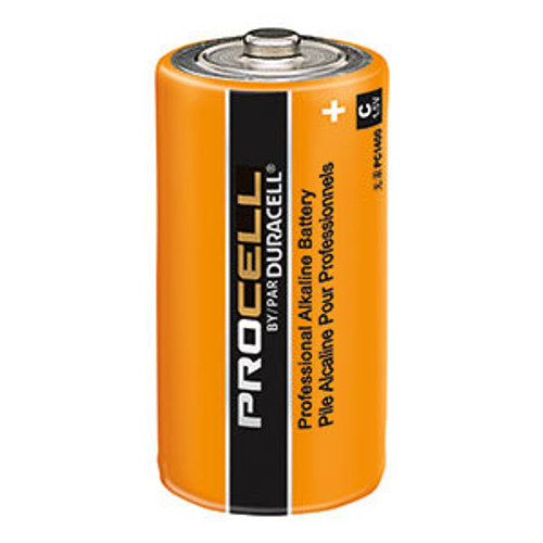 Duracell Procell C Batteries - PC1400 Industrial (12 Pack)