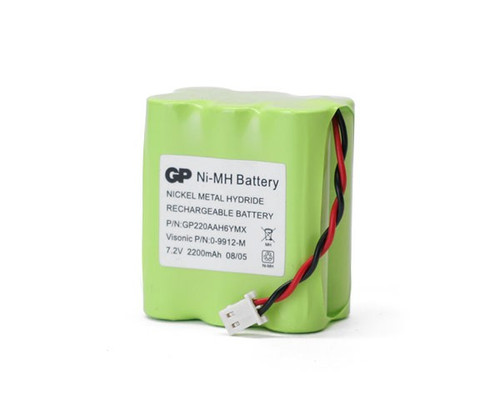 Visonic GP220AAH6YMX Battery for Powermax + Plus Alarm Back Up