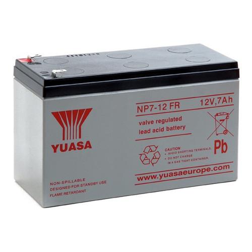 Genesis NP7-12FR Battery 12V 7.0Ah Enersys (.187 Tabs)