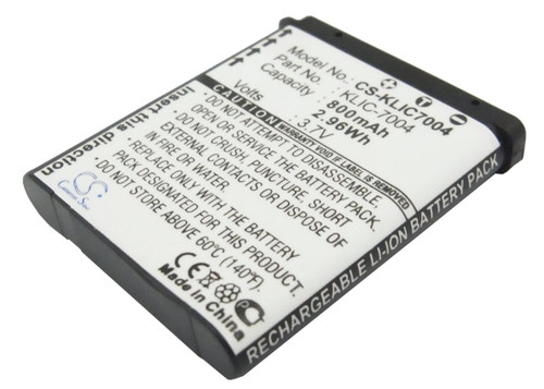 Kodak KLIC-7004 Battery for Digital - Video Camera
