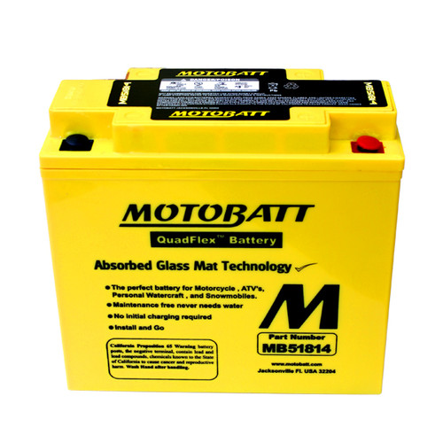 BMW 51814 Battery Replacement - AGM Sealed for Motorcycle