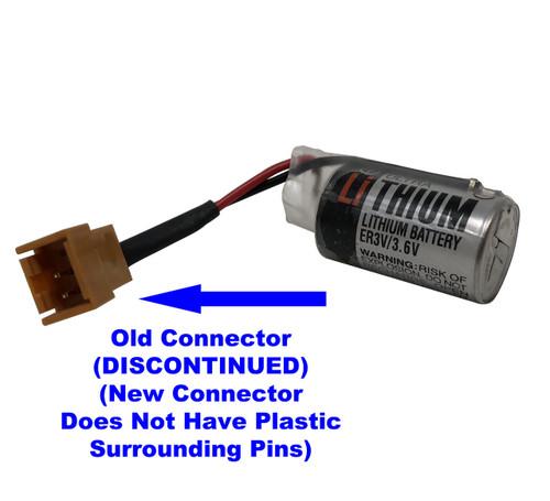 Toshiba ER3V/3.6V Battery w/Custom Connector