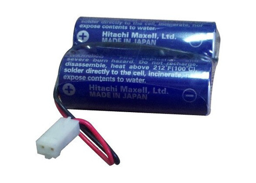 Maxell 2CR17450 Battery CR17450 (3V) Hitachi with RD0296 Connector