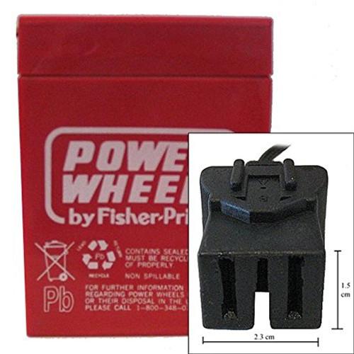 Power Wheels 00803-1033B Battery