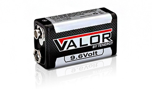 9V Rechargeable Kit - 2 x 9.6V NiMH Batteries with Charger