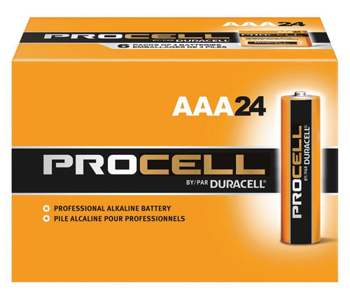 Duracell Procell AAA Batteries - PC2400 Industrial (144 Case)