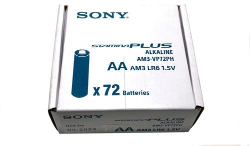 Sony AA Alkaline Batteries (72 Bulk Pack)