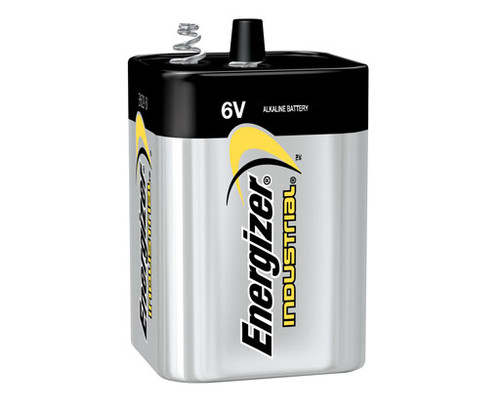 Energizer EN529 Battery - 6 Volt Spring Top (Case of 6)