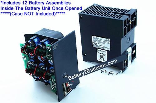 Mitsubishi Q8BAT Battery Unit Replacements (12 x Assembly Inserts)