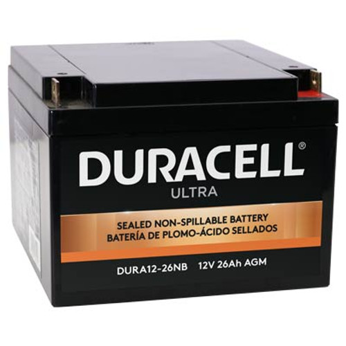 Duracell DURA12-26NB Battery Replacement (N&B) 12V 26Ah Ultra AGM Sealed Lead