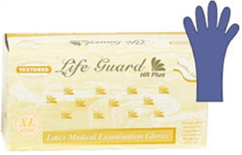 Powder-Free Thick Latex Exam Gloves: 500 LARGE