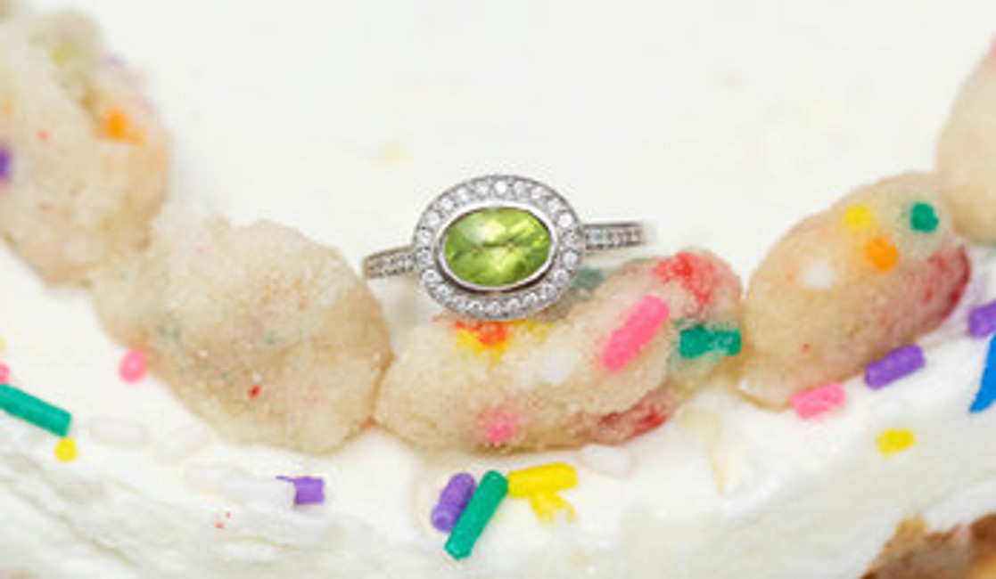 The Story Behind August's Birthstones: The Peridot