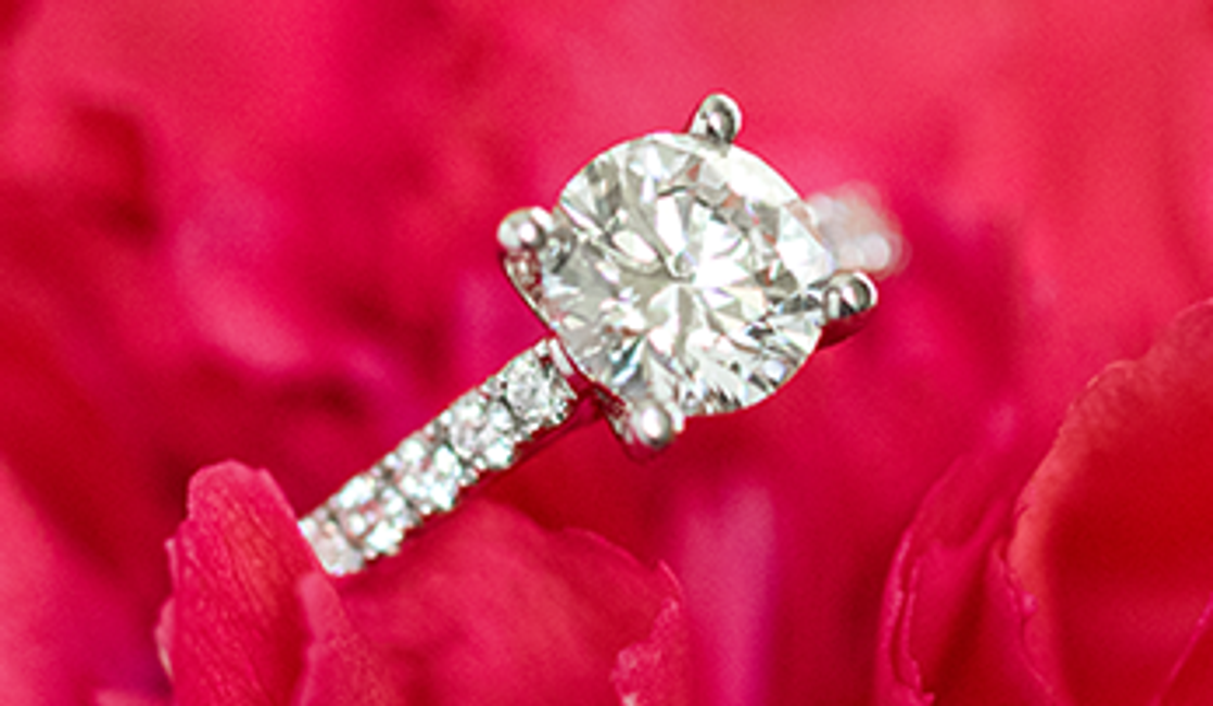 Why You Might Want to Choose an Engagement Ring Together