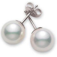 Akoya Pearl Stud Earrings (#351257)