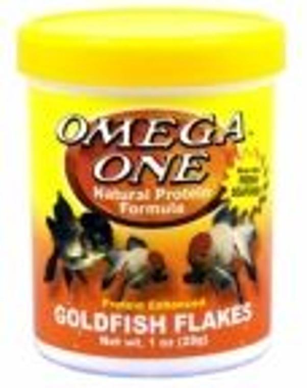 Omega Goldfish Flakes 28g