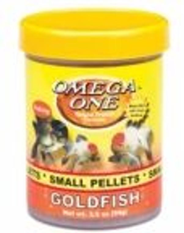 Omega Goldfish Pellets Sml 119