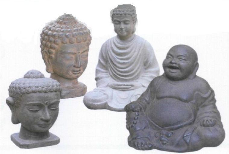 Buddha - Head Medium 33cm