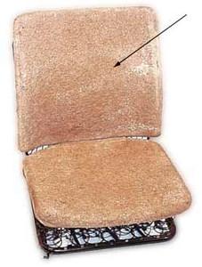 HAIR SEAT PAD, 1/3 SEAT BACKREST