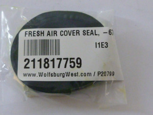 Fresh Air Duct Cover Seal, Bus 1955-1967