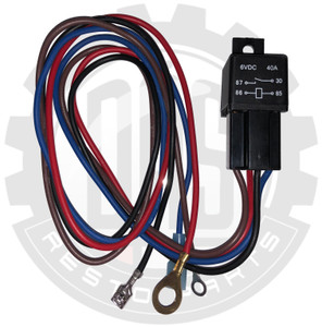 Hard Start Relay Kit, 6 Volt
