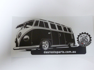 DAS Resto Parts Decal (sticker) - Kombi