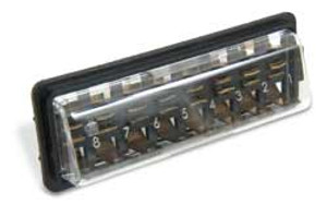 FUSE BOX COVER, BUG 61-66, BUS 60-67