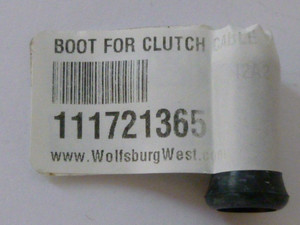 Boot for Clutch Cable