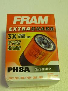 FRAM PH8A Oil Filter, 5in Long