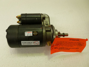 Bosch Starter Motor, 6 Volt