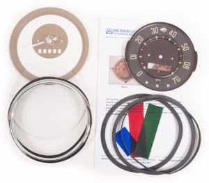 BUS SPEEDO RESTORATION KIT 1955 -1958