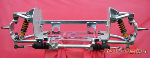 Red 9 Design Double Wishbone Front Suspension, LHD Bus 1955-1967