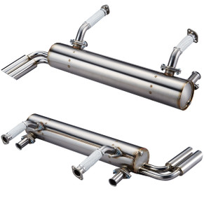 VINTAGE SPEED ABARTH EXHAUST TYPE 3 STAINLESS STEEL