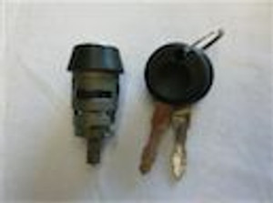 IGNITION LOCK BARREL WITH KEYS - SUITS ALL MODELS WITH STEERING LOCK -79
