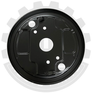 Backing Plate, Bus, 3/55-8/63, Left Front