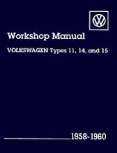 BENTLEY SERVICE MANUAL TYPES 11,14,15 58-60