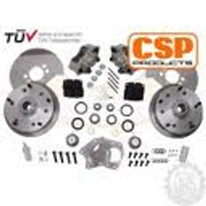 CSP 5 x 205 Front Disc Brake Kit, Bus 64-70