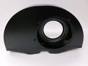 36hp Style Doghouse Fan Shroud, Black without Heater Ducts