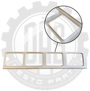 UPPER SIDE PANEL WINDOW SURROUND, RIGHT SIDE